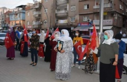 Şırnak'ta Ailelerden PKK'ya Karşı HDP Önünde Eylem