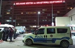 Ankara'da Şok Eden Olay: Hastaneye Taşla Saldırdılar!