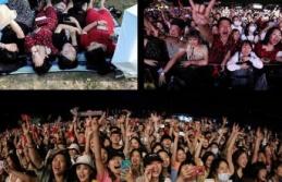 Wuhan'da Hayat Normale Döndü: Binlerce Kişi ile Dev Müzik Festivali