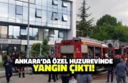 Ankara'da Özel Huzurevinde Yangın Çıktı!