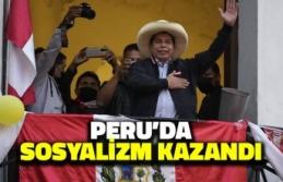 Peru'da Sosyalizm Kazandı: Pedro Castillo Devlet Başkanı Oldu