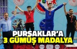 Pursaklar'a Üç Gümüş Madalya