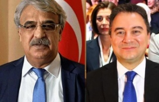 Ali Babacan'dan HDP'ye Destek Telefonu!