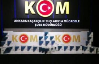 Ankara'da 2 Bin 870 Adet Kaçak Test Kiti Ele...