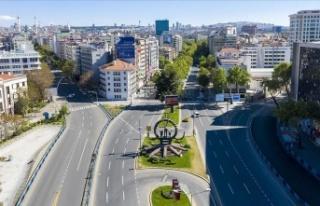 Ankara'da Hafta Sonu Sokağa Çıkma Kısıtlaması...
