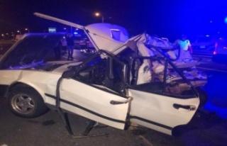 Ankara'da Tır Otomobile Çarptı: 2 Kişi Öldü!