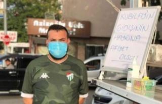 Kubilay Gitti, Bursaspor Taraftarı Lokma Döktürdü
