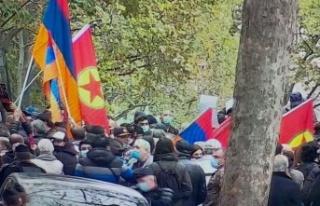 PKK ve Ermenilerden Paris'te Ortak Eylem!