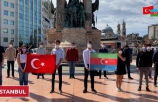 Türk Gençliğinden Azerbaycan'a Dayanışma...