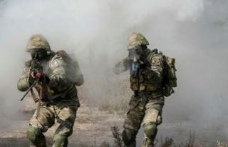 Yıldırım-10 Norduz'da 3 Terörist Etkisiz