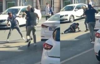 Ankara'da Sokak Ortasında 'Yol Vermeme'...