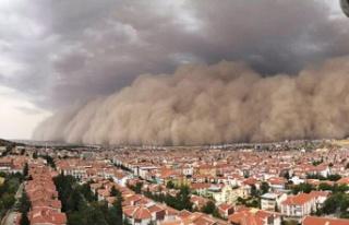 Ankara'daki Kum Fırtınasının Nedeni Belli...