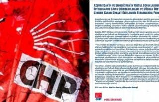 CHP'den Azerbaycan'a Karşı İhanet Bildirisi!