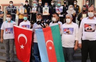 Diyarbakır Ailelerinden Azerbaycan'a Destek