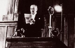 İşte Atatürk'ün Cumhurbaşkanı Ünvanıyla...