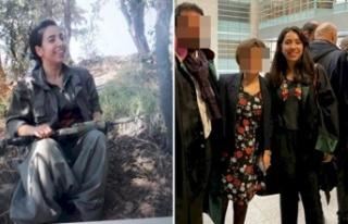 Kırmızı listedeki teröristin yanındaki kadın...
