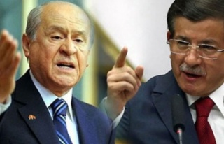 MHP'den Davutoğlu'na Sert Yanıt: Siyaset...