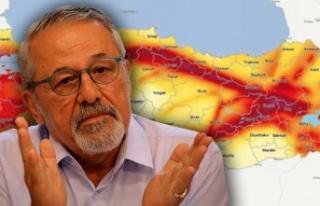 Naci Görür'den deprem açıklaması: Kırmızı...