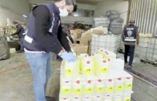Ankara'da 6.6 Ton Etil Alkol Ele Geçirildi