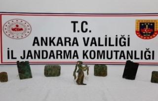 Ankara'da Tarihi Eser Kaçakçılığı Operasyonu