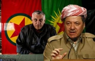 Barzani ile PKK Birbirine Girdi!