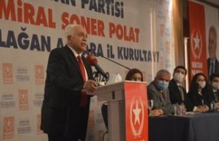 Doğu Perinçek Partisinin İl Kurultayında Konuştu:...