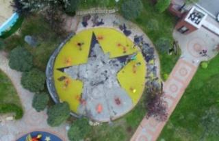 PKK Sembollü Çocuk Parkı Skandalında Yeni Gelişme