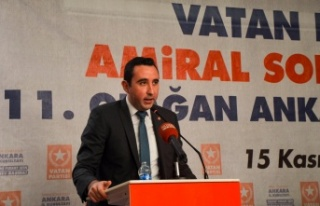 Vatan Partisi Ankara İl Başkanlığına Deniz Tokgöz...