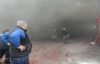Ankara'da LPG Dükkanında Patlama!
