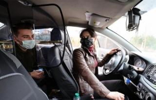 Ankara'da Taksicilik Yapan 'Sabire Abla'...