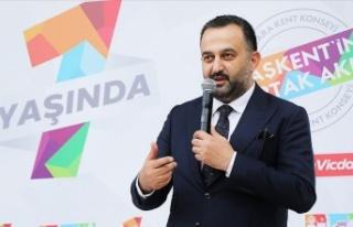 Ankara Kent Konseyi Başkanı Halil İbrahim Yılmaz'dan...