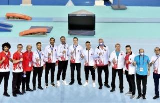 Avrupa Şampiyonası'nda Milli Cimnastikçiler...