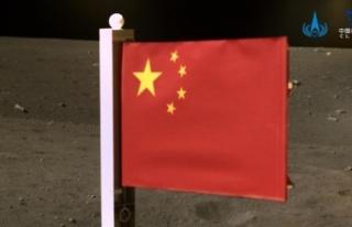 Çin Uzay Aracı 'Çang' Ay'dan Topladığı...