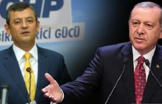 Cumhurbaşkanı Erdoğan'dan Özgür Özel'e...