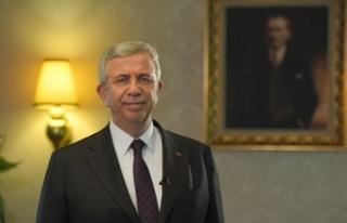 Ankara Büyükşehir Belediye Başkanı Mansur Yavaş'tan...