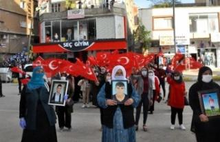 Şırnaklı Annelerden HDP Önünde Evlat Nöbeti