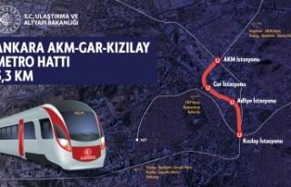 AKM-Gar-Kızılay Metrosu için Tünel Kazıları...