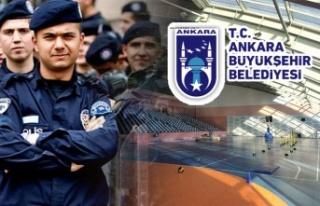 Ankara Büyükşehir Belediyesi'nden Polis (POMEM)...