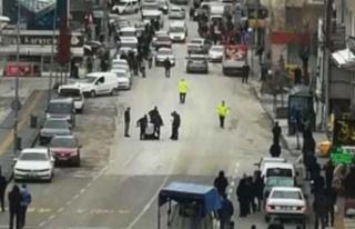 Ankara Çubuk'ta Cadde Ortasında Pompalı Tüfek...
