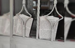 Ankara'da Evlere Şeriat Bildirisi Provokasyonu