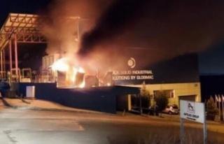 Ankara'da Korkutan Fabrika Yangını!