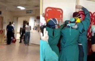 Ankara'da Sağlık Çalışanlarına Saldırı...
