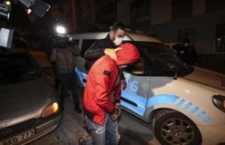 Ankara'da Uyuşturucu Kullanılan Eve Baskın:...