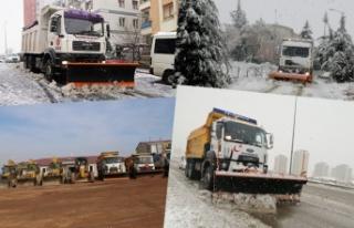 Ankara'nın Tüm Belediyeleri Karla Mücadele...