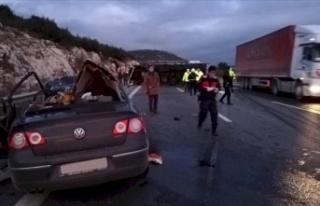 Ankara-Pozantı Otoyolunda Feci Kaza: Çok Sayıda...