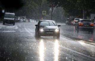 Ankara'ya Sağanak Yağış Uyarısı Geldi