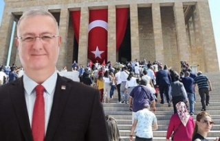 CHP Ankara'dan Hakkarili Babaya Anıtkabir Daveti
