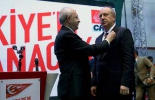 CHP'nin Son Cumhurbaşkanı Adayı Muharrem İnce'nin...