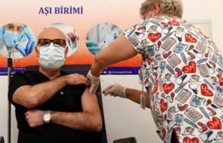 Doç. Dr. Afşin Emre Kayıpmaz Aşının İlk Yan...