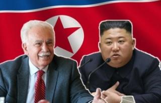 Doğu Perinçek'ten Kim Jong Un'a Kutlama Mesajı